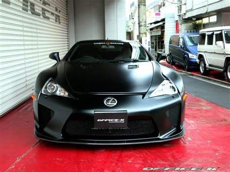 lexus supercar lfa satin black lexus lfa by office k gtspirit
