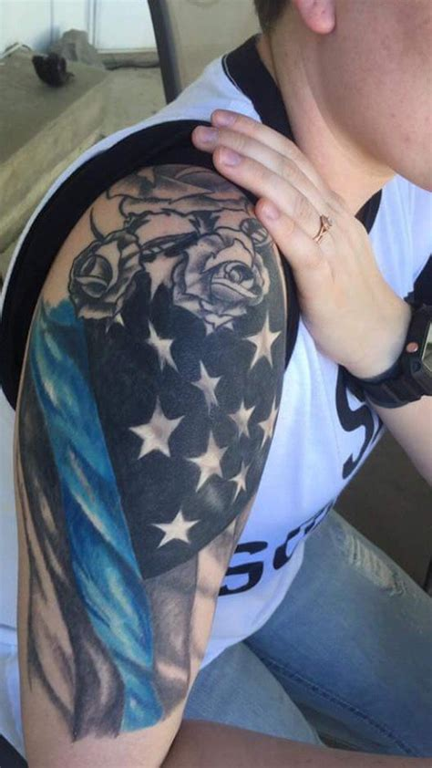 tattoo needle laws 18 best thin blue line tattoos for men images on pinterest