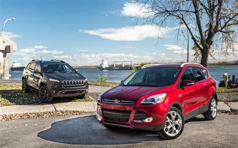 jeep escape jeep cherokee trailhawk vs ford escape city mouse or