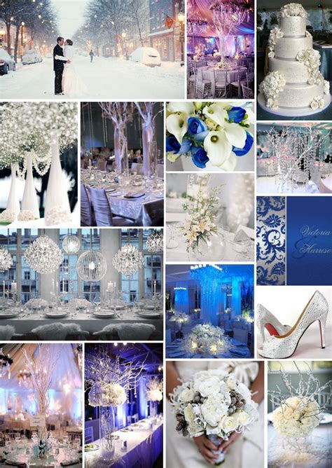 JADE GREEN & ICE BLUE WEDDING THEMES   Well, Winter has