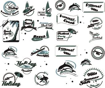 logo styles psd abstract style logos design vector 01 millions