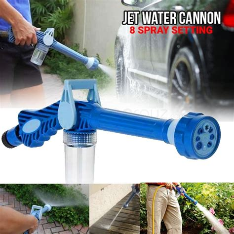Ez Jet Water Cannon 8 In 1 Turbo Powerful Water Spray Gun ez jet water cannon 8 in 1 turbo powerful water spray gun