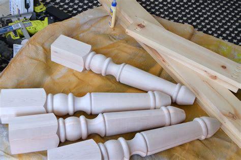 chunky farmhouse legs build a custom farmhouse create and babble