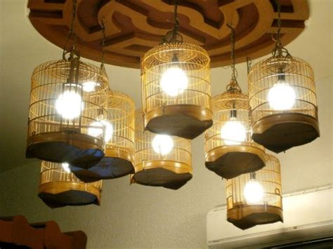 Hanging Bird Cages From Ceiling by Bird Cage Ls Hanging From The Ceiling Lanterns