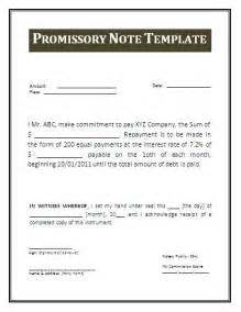 Business Promissory Note Template Promissory Note Form Free Printable Documents