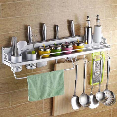Desain Rak Tempat Bumbu Dapur rak gantung tempat bumbu rak dinding dapur aluminium