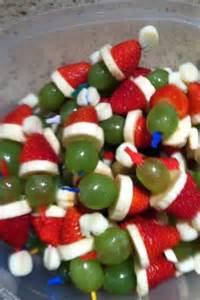 Christmas Drink santa fruit snacks life cheating