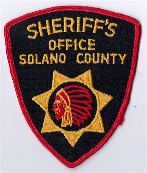Solano County Sheriff S Office by California Patches For Sale Trade P S Dan S