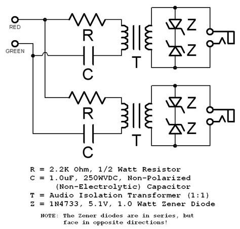 capacitor in telephone circuit why a capacitor on a telephone input page 1