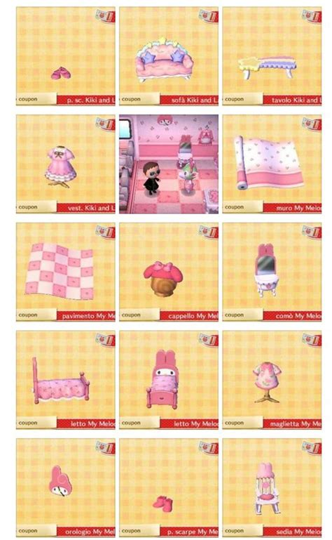 how to shade acnl clothing styles carte amiibo sanrio collection m y m 233 lodie et kiki and
