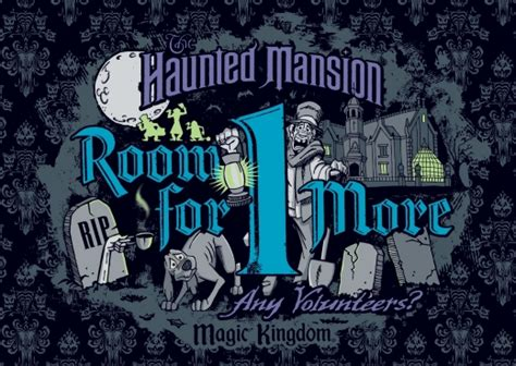 room for one more room for one more special ticket event to celebrate disney s haunted mansion attractions