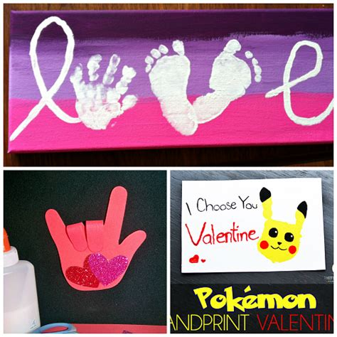 handprint crafts for s day handprint craft card ideas crafty morning