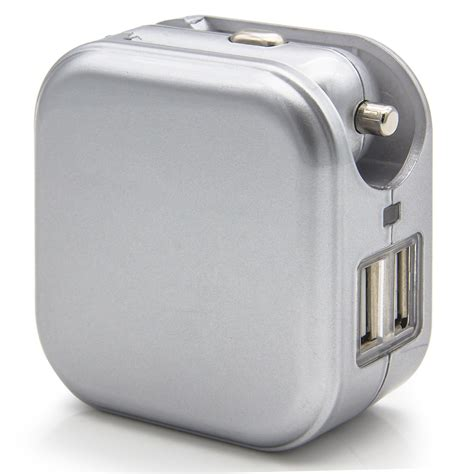 Ac Portable Usb usb ports 2 in 1 portable travel charger adapter foldable