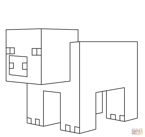 minecraft creeper coloring pages dowmload image coloring