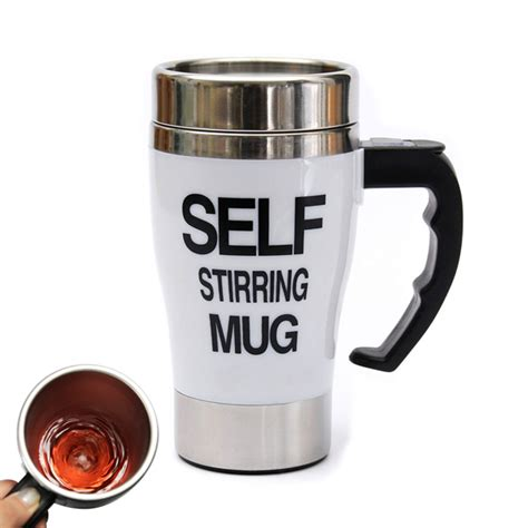 Automatic Self Stirring Mug Steering Coffee Cup Gelas A Terjamin buy automatic coffee mixing cup self stirring coffee mug bazaargadgets