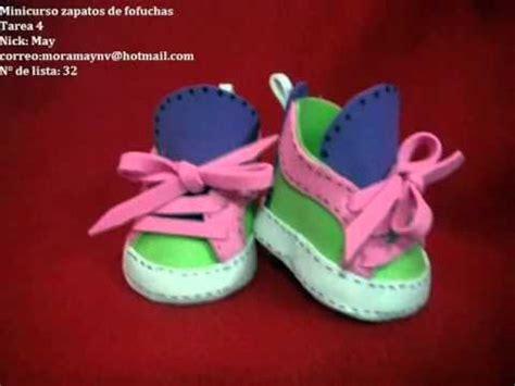 manualidades para muecas como aser sapatos zapatos para mu 241 ecas fofuchas foami gomaeva artfoamicol
