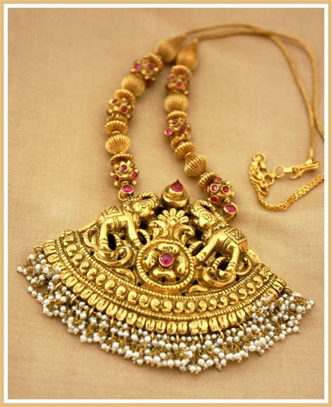 antique temple jewellery designs minmit