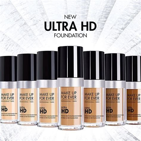 Makeup Forever Ultra Hd Foundation make up for to launch new ultra hd invisible cover