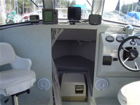 fishing boat interior our gear good time dave s