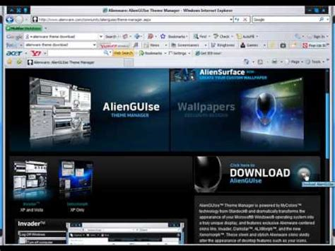 themes free download youtube how to download alienware theme s for free cool themes