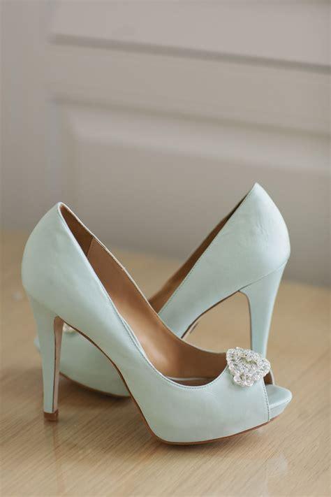 light blue bridal shoes light blue wedding shoes elizabeth designs the