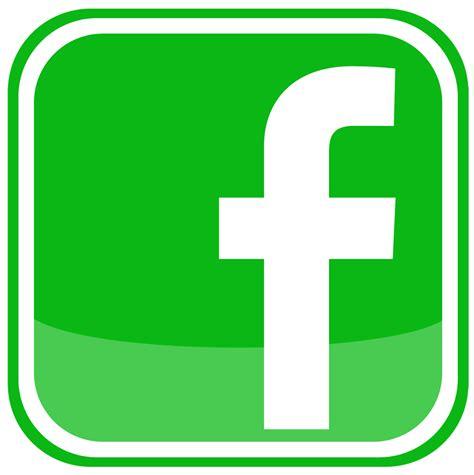 facebook icon logo png green