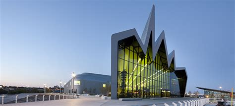 Glasgow Riverside Museum of Transport by Zaha Hadid Architects ? Visuall