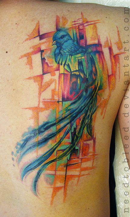 watercolor quetzal tattoo best 25 quetzal ideas on bright
