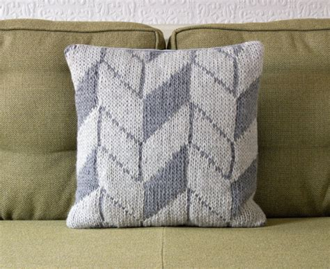 Knit Pillow Pattern by Geometric Pattern Pillow Cushion Cover By Knit