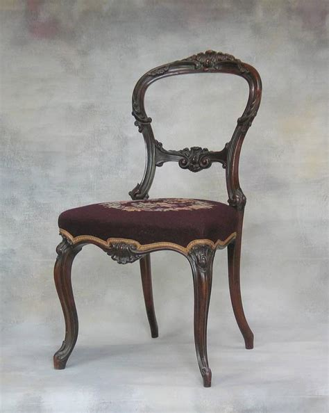 rosewood side chair mid revival rosewood side chair with