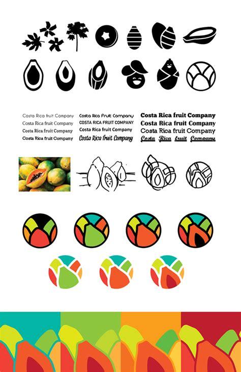 fruit company costa rica fruit company logo on behance