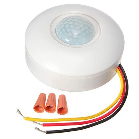 infrared ir motion sensor ceiling switch l light