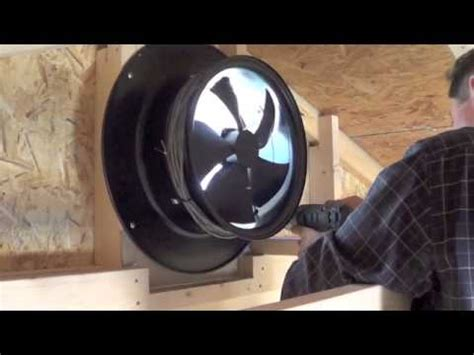 gable attic fan installation solar gable fan installation yellowblue