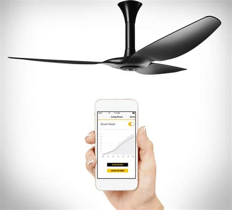 smart ceiling fan haiku smart fan turns on when you enter the room