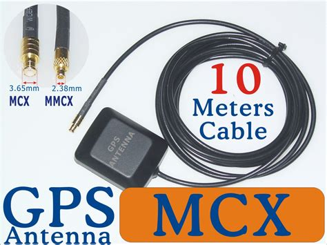 marine gps antenna mcx mmcx sma bnc adapter 3 5 10 meters external cable