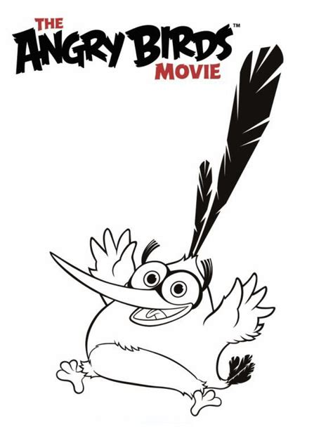 angry birds movie coloring pages kids n fun com 6 coloring pages of angry birds movie