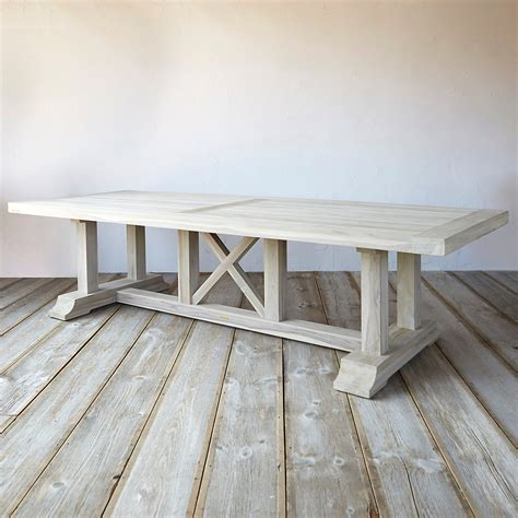 country dining table protected teak country dining table terrain
