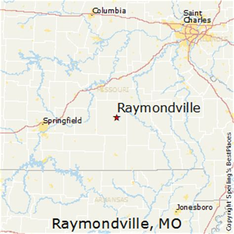 raymondville texas map best places to live in raymondville missouri