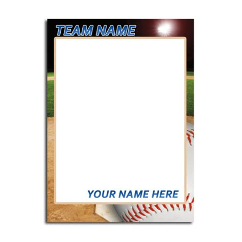 Sports Card Template Free trading cards business cards flyers and banners