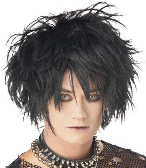 spikey short wigs for black women black midnight fiend short spiky wig ebay