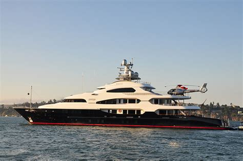 yacht attessa attessa iv yacht launch in canada the largest ever in