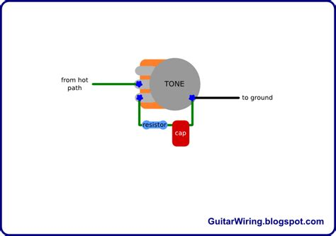 guitar tone pot without capacitor the guitar wiring diagrams and tips tone mod