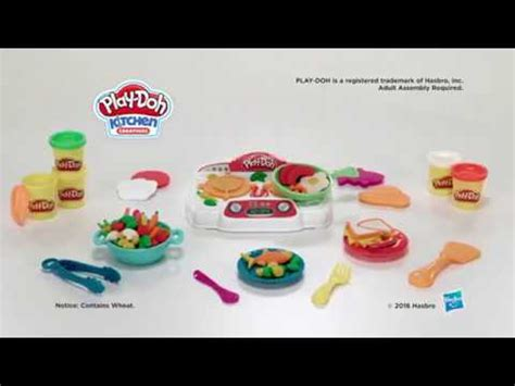 Play Doh Kitchen Creations Chef Set by Play Doh Kitchen Creations Sizzlin Stove Top