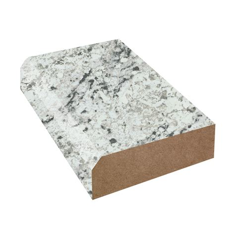 Countertop Edges Formica by Formica Laminate White Granite Color Caulk