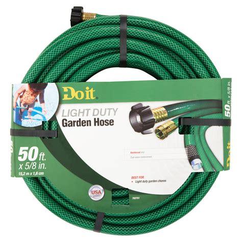 50 Ft Garden Hose by 5 8 Quot Dia X 50 Ft Vinyl Light Duty Garden Hose Unoclean