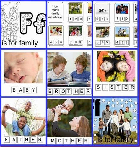 kindergarten activities on family 1000 images about family unit on pinterest activities