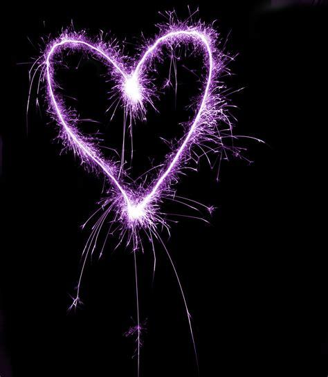 black heart themes purple heart black background www pixshark com images