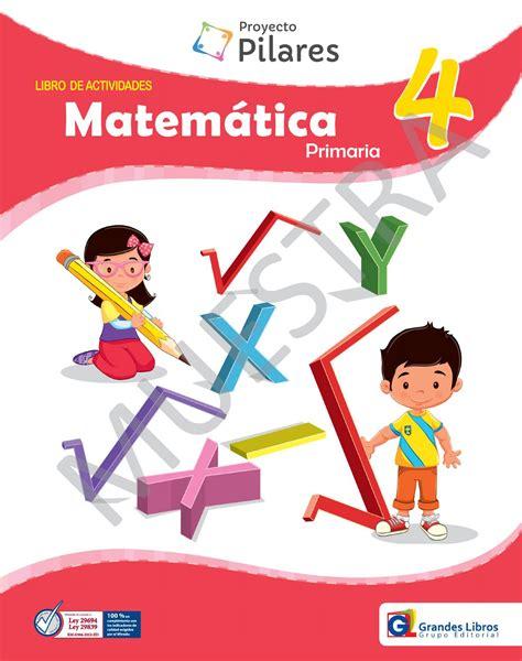 issuu libro de matemticas contestado proyecto pilares matem 225 tica 4 176 libro de actividades by