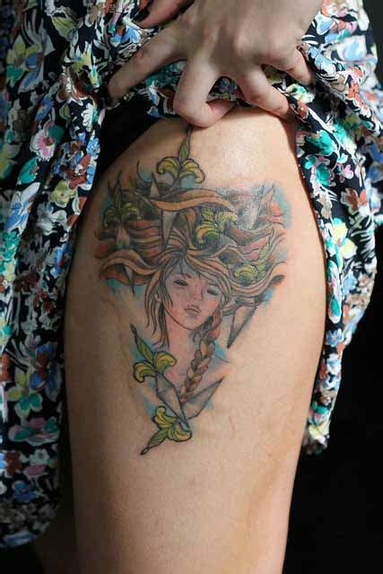 audrey kawasaki tattoo kawasaki hd wallpapers pics