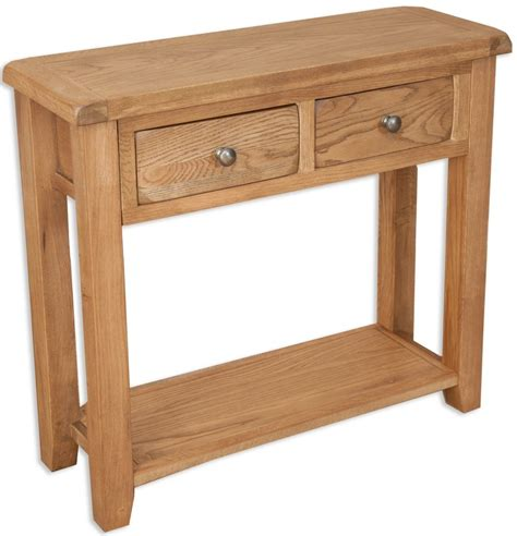 sofa tables perth perth country oak console table 2 drawer